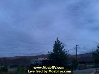 Moab Rim RV Campark Check-in Webcam